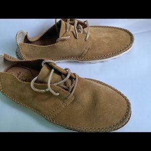 Men's Clark's Dakin Walk Cognac Loafers 10.5